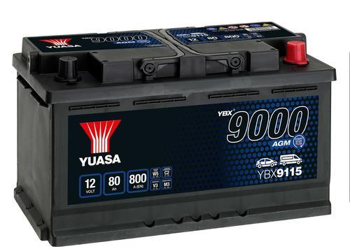 YUASA YBX9115 80Ah