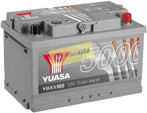 YUASA YBX5100 75Ah