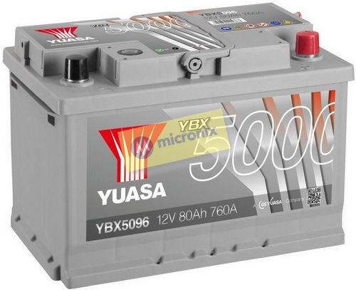 YUASA YBX5096 80Ah
