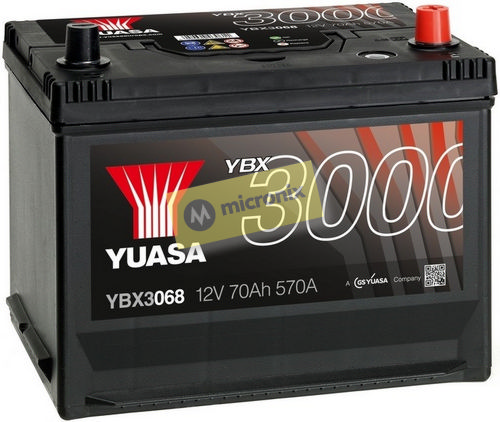 YUASA YBX3068 70Ah