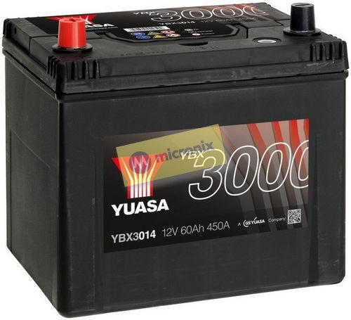 YUASA YBX3014 60Ah