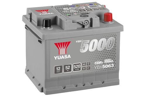 YUASA YBX5063 52Ah